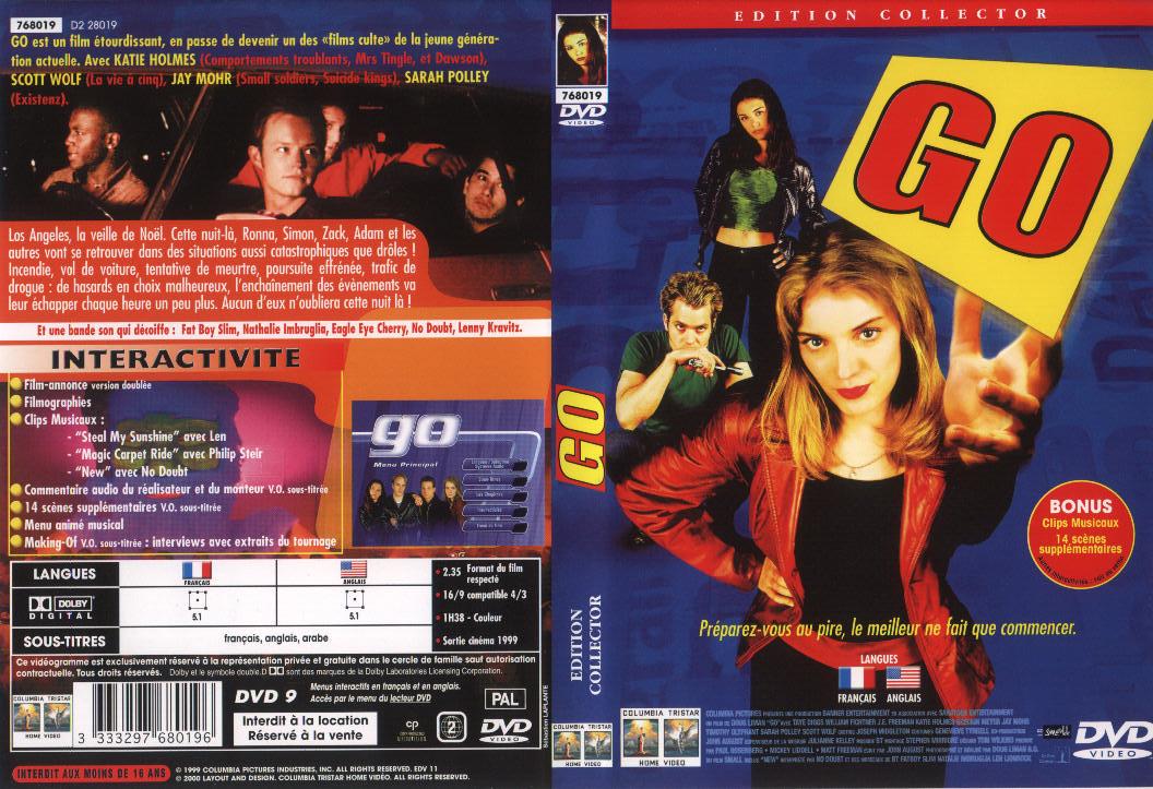 Jaquette DVD Go